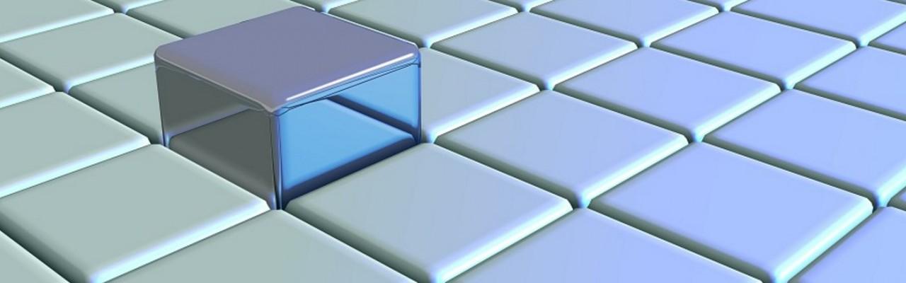 SLD griglia cubi digitali